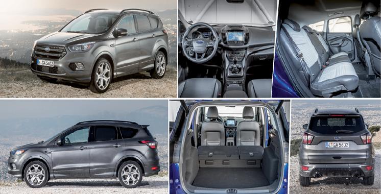 Ouverture: Ford Kuga se refait une beauté