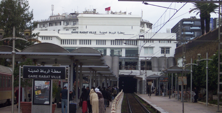 Rabat : La police évacue la gare ferroviaire à cause d'un colis suspect