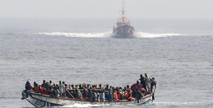 Emigration clandestine : 19 candidats sauvés au large de Casablanca