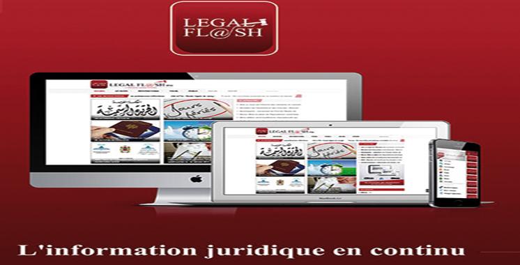 legal flash 1 re plate forme gratuite d di e aux veilles juridiques aujourd 39 hui le maroc. Black Bedroom Furniture Sets. Home Design Ideas