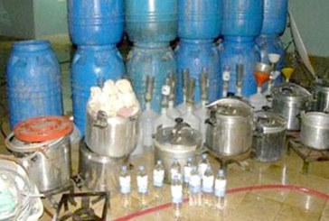 Benguerir : Saisie de plusieurs litres d'eau-de-vie et d'une tonne de figues sèches