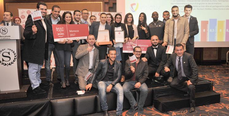 Meilleurs employeurs au Maroc 2017 :  Et les gagnants sont…