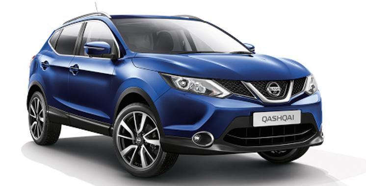Nissan: Qashqai meilleur SUV de l'année 2017