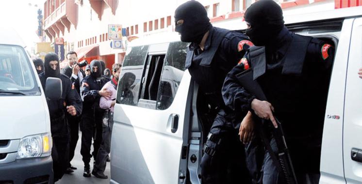 Sept personnes mises en détention à la prison  de Salé pour des affaires liées au terrorisme