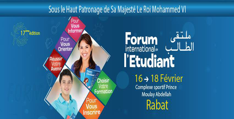 Rabat abrite la 17ème édition du Forum international de l'étudiant