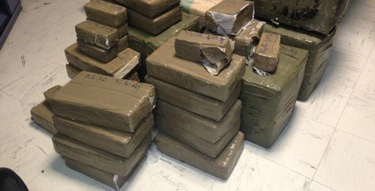 Saisie de plus de 32 kg de chira au point de passage de Bab Sebta