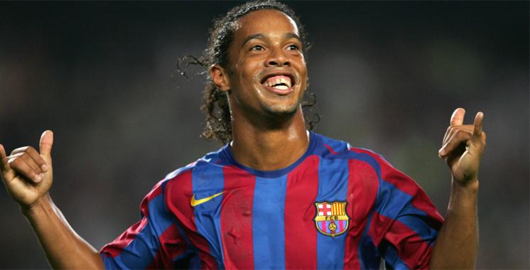 Ronaldinho nouvel ambassadeur du FC Barcelone