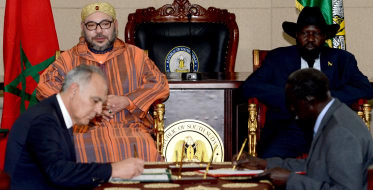 Neuf accords bilatéraux signés : Le Maroc engagé dans la construction de la nouvelle capitale du Soudan du Sud