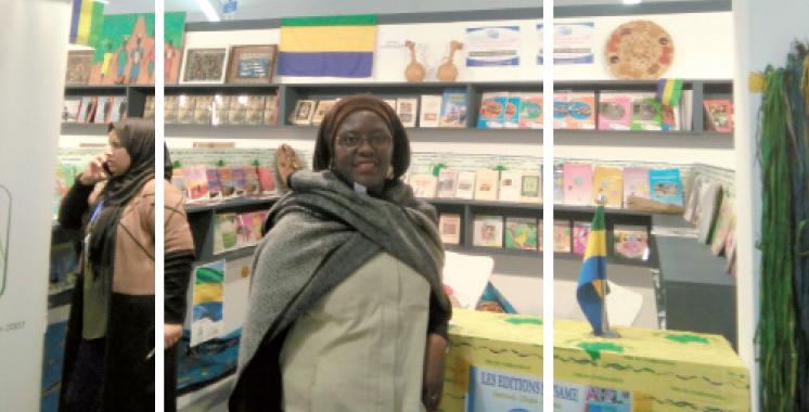 Sylvie Ntsame: «Contrairement au Maroc, les livres ne sont pas subventionnés au Gabon»