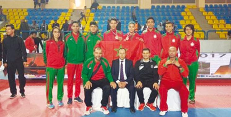 Taekwondo : 4 médailles pour le Maroc au Tournoi de Louxor