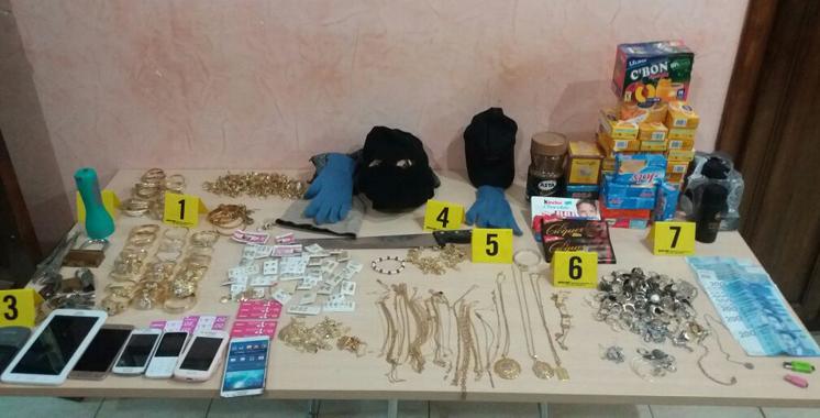 Agadir : démantèlement d'une bande de criminelles spécialisée dans le vol
