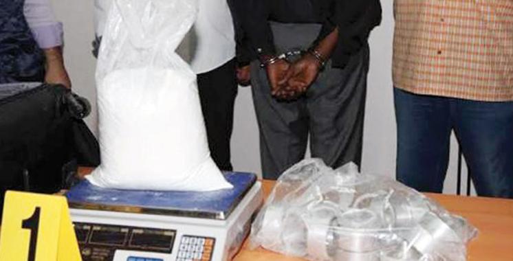 Aéroport Mohammed V : Arrestation d'une Kenyane en possession de 1,6 kg de cocaïne