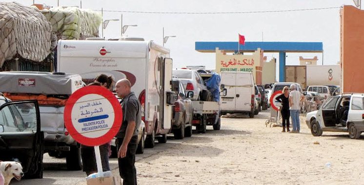 Guerguerate :  Mise en échec d'une tentative d'importation de marchandises prohibées