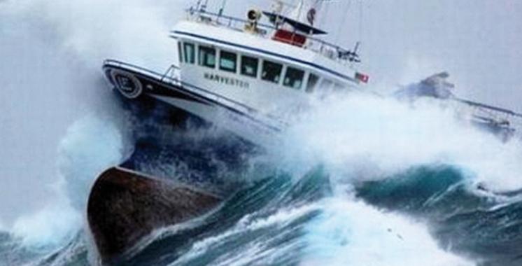 Mauvais temps : Trafic maritime suspendu entre Tanger-ville  et Tarifa