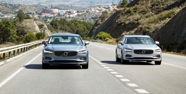 Volvo Cars: La S90 et le V90 primés