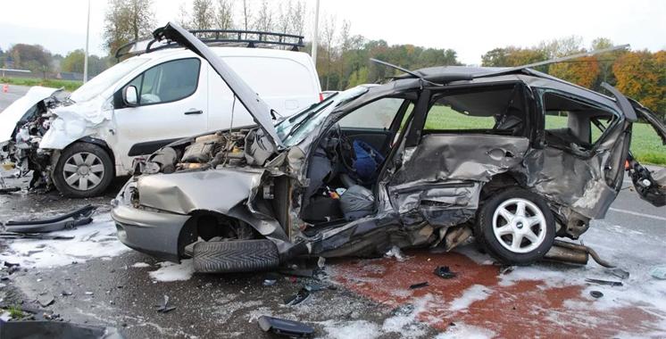Accidents de la route : 5 morts  en moins de 24 heures