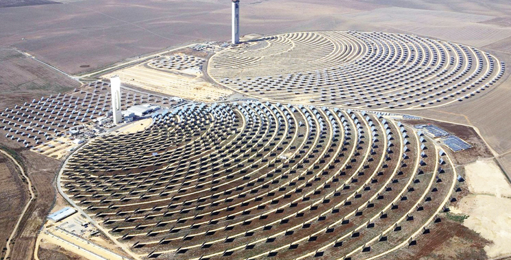 Noor photovoltaïque I: Masen Capital dans le tour  de table des  6 entreprises du programme