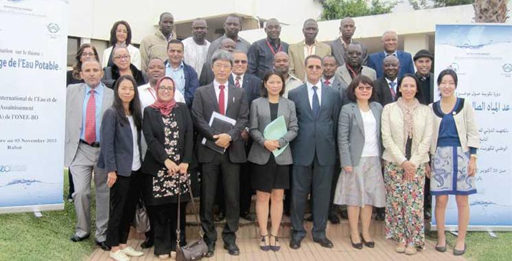 Formation cinq pays africains b n ficient de l - Office national de l electricite et de l eau potable ...