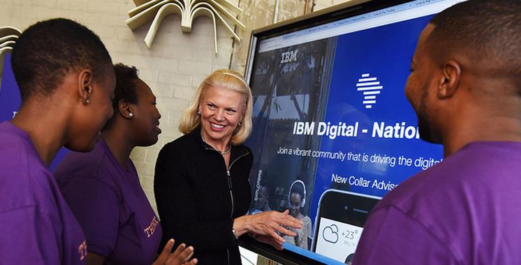 IBM veut former 25 millions de jeunes africains y compris au Maroc