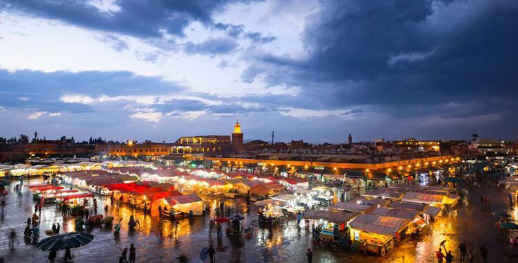 Marrakech : Emission d'un timbre postal spécialement dédié à la Place Jemaa El Fna