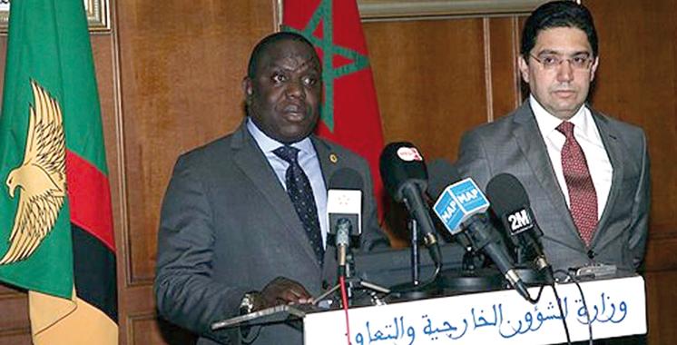 Sahara : La Zambie confirme le retrait de sa reconnaissance du polisario