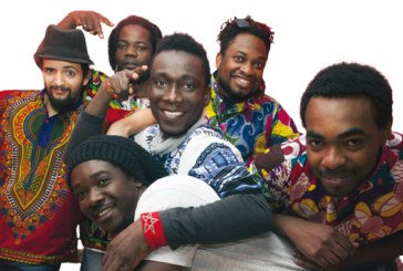 Le groupe Africa United au Lausanne afro fusions festival