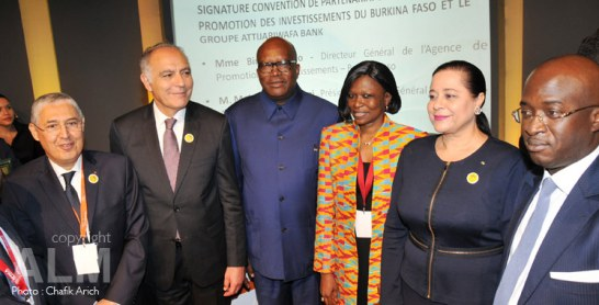 Casablanca: Le coup d'envoi des travaux de la 5ème édition du forum international Afrique développement d'Attijariwafa Bank