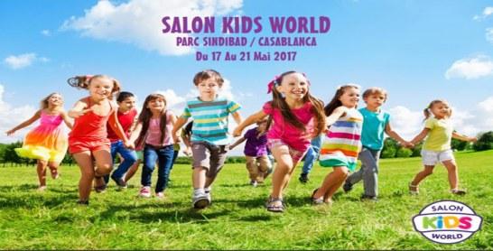 La première édition du Salon Kids World du 17 au 21 mai à Casablanca