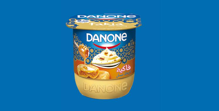 Danone allie les délices  de L'fakia