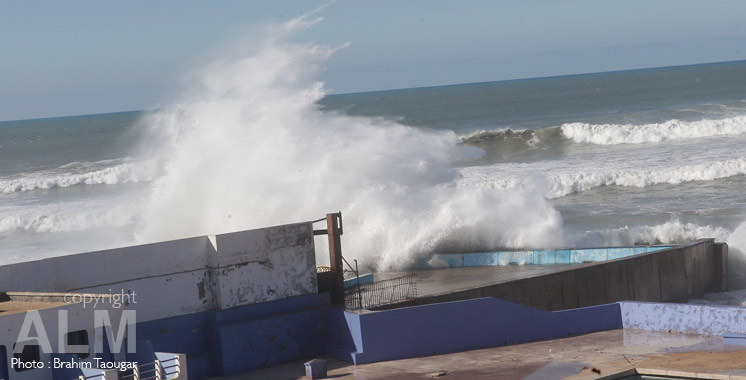 Météo : Des vagues de 4 à 6 mètres prévues dans les côtes atlantiques