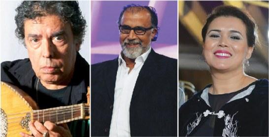FICMT : Hommage à Abdelawahab Doukkali,  Mohamed Khouyi et Saâdia Ladib