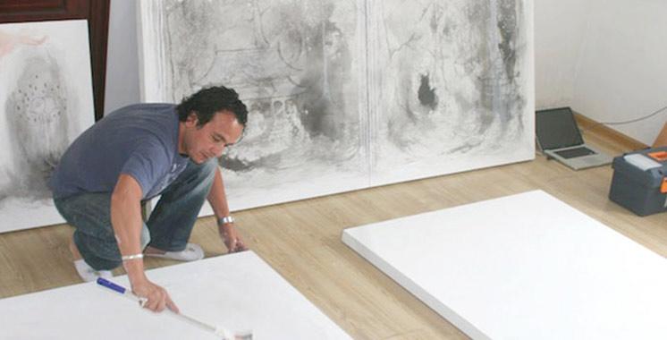 Exposition d'Ahmed Hajoubi  et Paulo Robalo à Casablanca