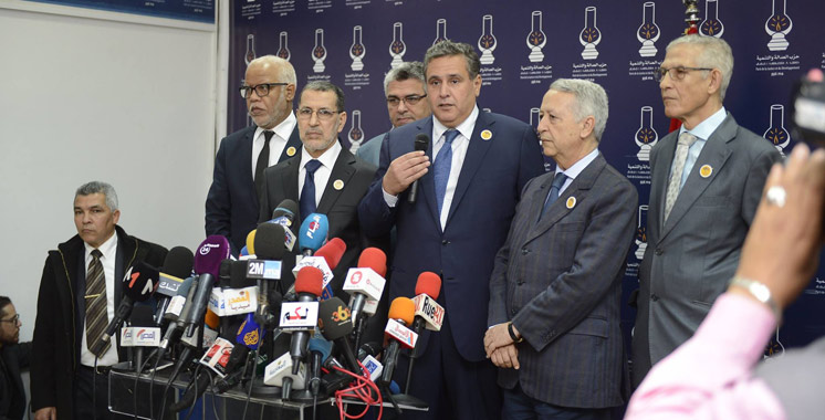 Formation du Gouvernement : El Othmani reçoit les représentants du RNI et de l'UC