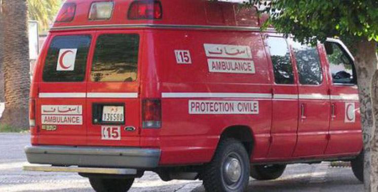 Port d'Agadir : une fuite de gaz déclenche un incendie et fait neuf blessés