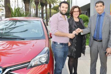 Tombola vignette automobile 2017: Houssam Bouaicha est l'heureux gagnant