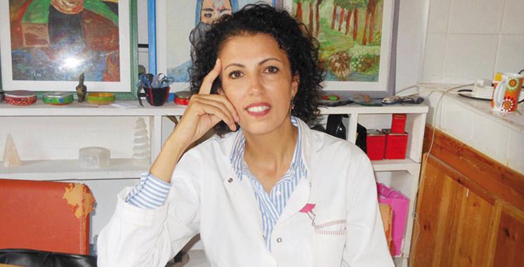 Boushra Benyezza: «Il faut informer, mais pas dans l'horreur»