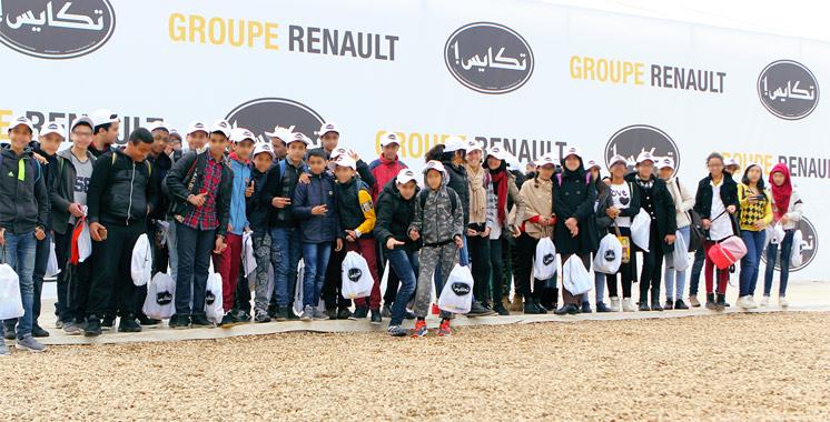 Le Groupe Renault Maroc vient d'organiser la 3ème édition du «Tkayes Village»: Actions et prévention