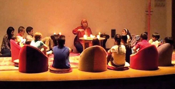 Deuxième Festival international  du conte de Larache