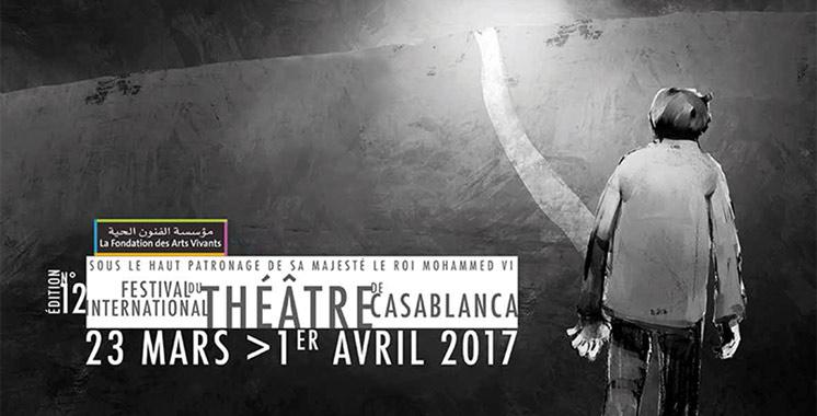 Le 12e Festival international du théâtre de Casablanca du 23 mars au 1er avril