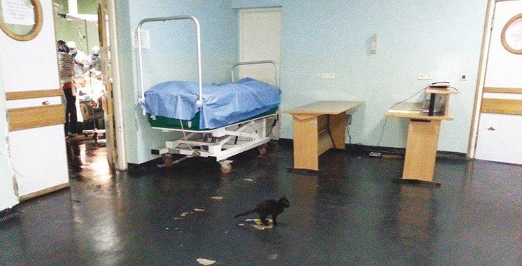 Les hôpitaux et leurs odeurs désagréables…