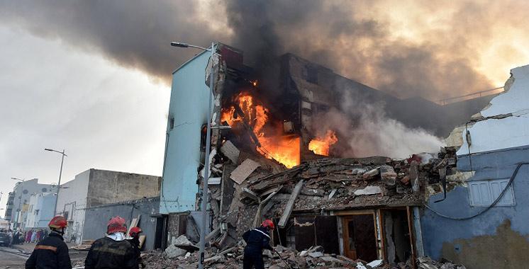 Incendie dans un entrepôt de bois à Salé : 1 mort  et 8 blessés