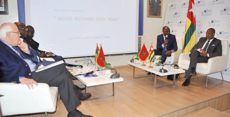 Le Togo souhaite renforcer ses relations économiques avec le Maroc