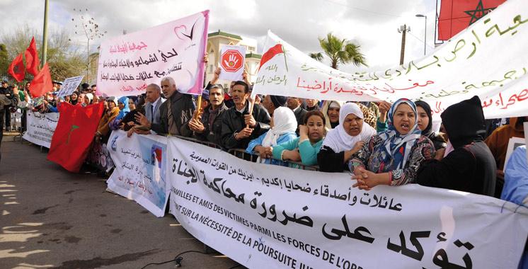 Evénements Gdeim Izik: La chambre criminelle près la Cour d'appel procède à l'interrogatoire des accusés