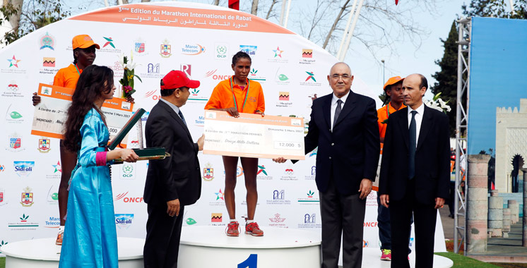 Marathon international de Rabat: Les Éthiopiens dominent la 3è édition
