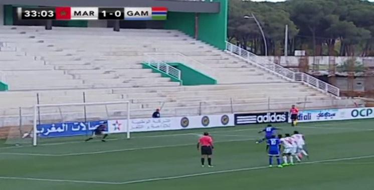Football : Le Maroc A' s'impose en amicale face à la Gambie