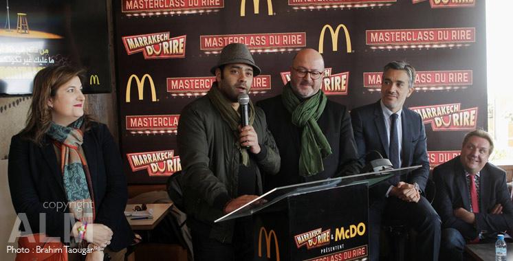 Master class du rire: McDonald's Maroc et Marrakech du Rire dénichent de nouveaux humoristes