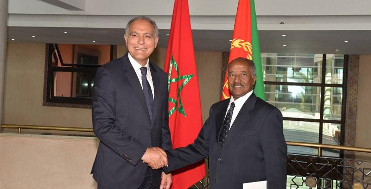 Mezouar reçoit le ministre des AE érythréen