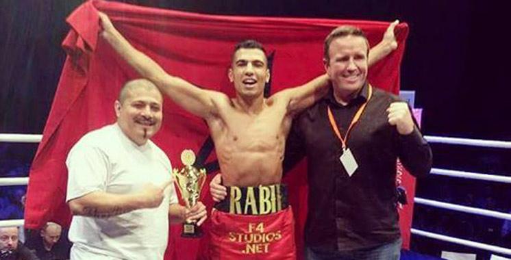 Boxe : Première  sortie Pro réussie de Mohamed Rabii