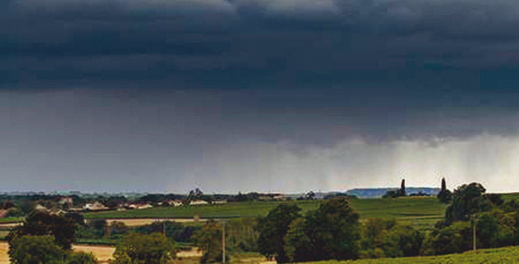 Alerte météo ce dimanche: Averses orageuses localement fortes et de la grêle
