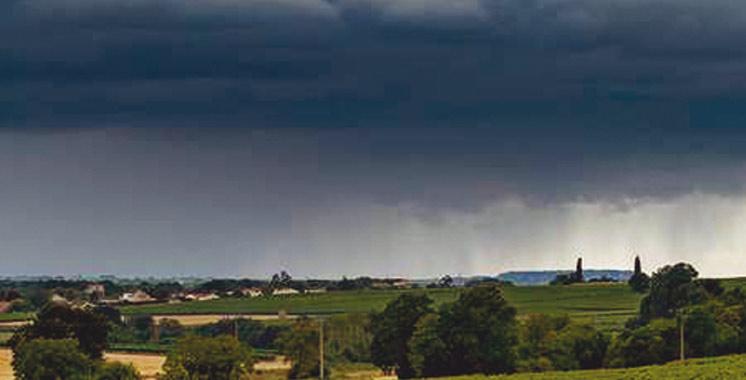 Météo : Averses orageuses dans plusieurs régions du Royaume